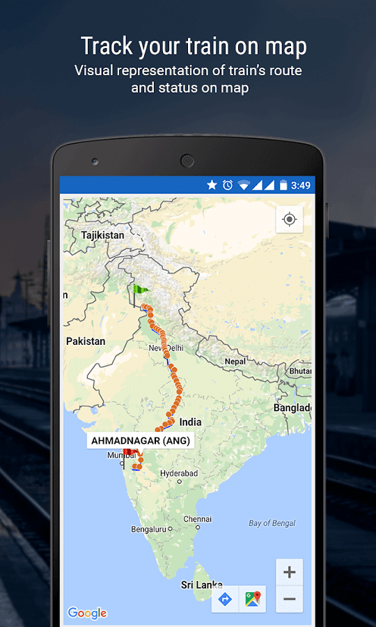 PNR Status & Indian Rail Info- screenshot