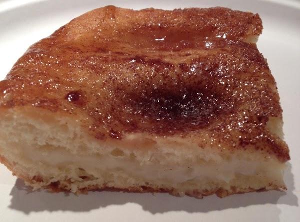 Sweet Cream Cheese Bars Recipe
