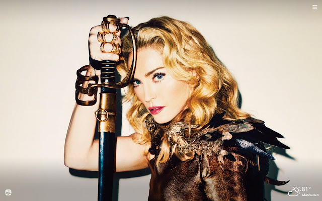 Madonna HD Wallpapers New Tab Theme