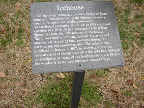 Photo: sign for the Icehouse
