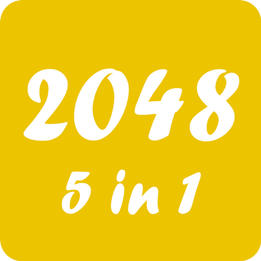 2048 Puzzle 5 in 1