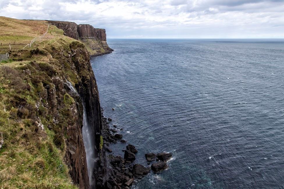 Szkocja, Kilt Rock i Mealt Falls, atrakcje Wyspy Skye