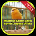 Masteran Kenari Gacor Ngerol Lengkap Offline icon