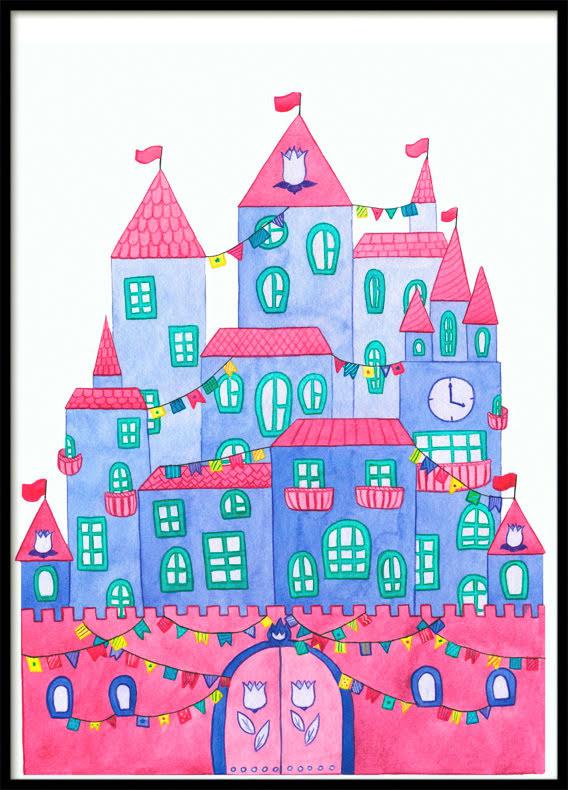 Fairytale Castle, Poster