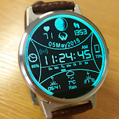 DIGITAL WATCHFACE MOTO 360 LG