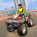 ATV Bike City Taxi Cab - Quad Driving icon