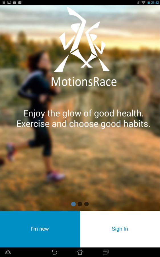 MotionsRace for companies- screenshot