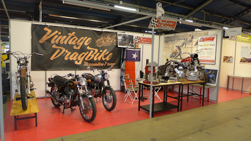 Stand Machines et Moteurs à MotoLegende 2018