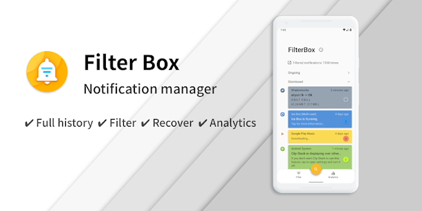 FilterBox – Pro Notification Manager 1