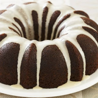 Spiced Bundt Cake with Cream Cheese Glaze