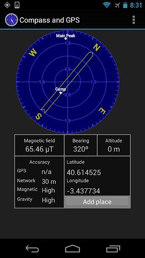 指南針和GPS