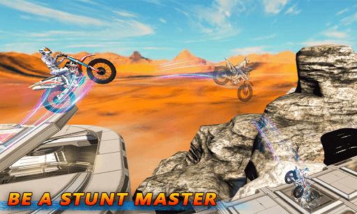 Tricky Bike Stunt Racing Tricks Impossible Tracks screenshots 3