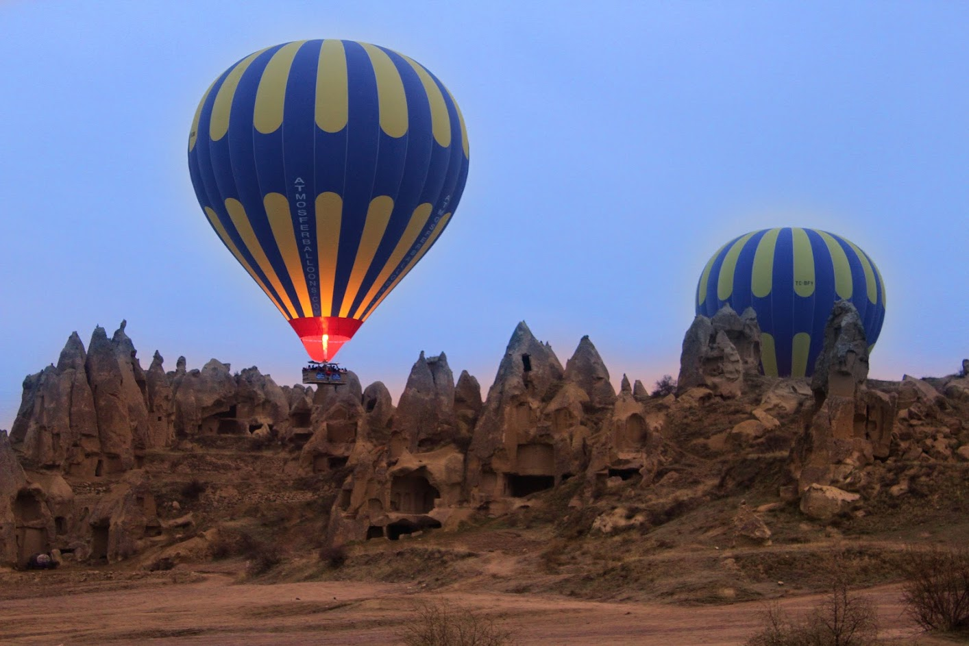 Tudo o que precisa de saber sobre um PASSEIO DO BALÃO NA CAPADÓCIA | Turquia