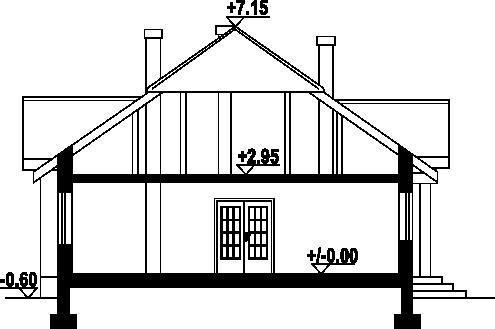 Antonin - Przekrój