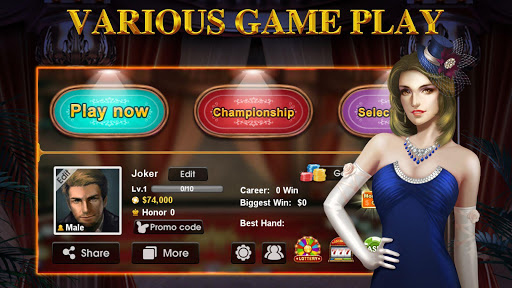 DH Texas Poker - Texas Hold'em screenshot 5