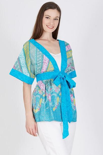 kimono outer batik