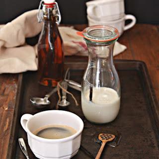 Homemade Vanilla Bean Coffee Creamer