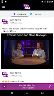 KiSS 102.3 Winnipeg- screenshot thumbnail
