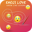 Emoji Love Draw Lines Lovers APK