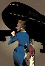 """Photo: """"Bon Voyage"""" artwork by Amore Hirosuke"""