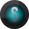 Black and Cyan Icon Pack icon