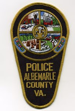 Photo: Albemarle County Police, Winter Uniform