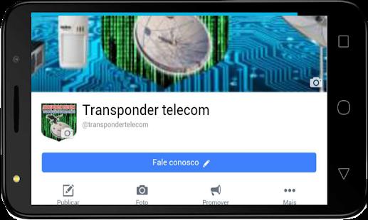 Web TV Transponder Telecom - náhled