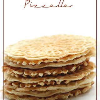 Low Carb Pizzelle