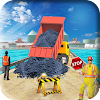 ville route construction Jeu 3d