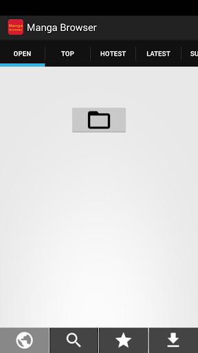 Manga Browser - Manga Reader Screenshot