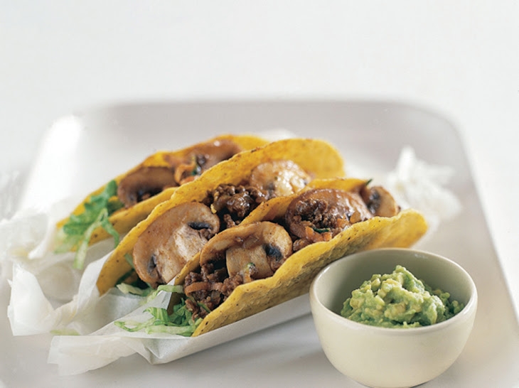 Mushroom and Vegetable Tacos Recipe