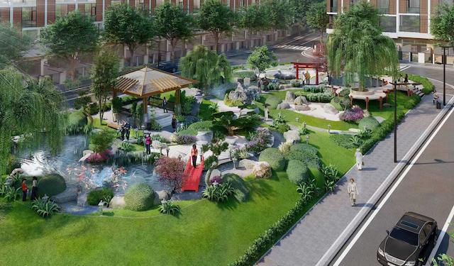 Dự án takara residence bình dương có tiện ích nội khu đậm chất Nhật Bản