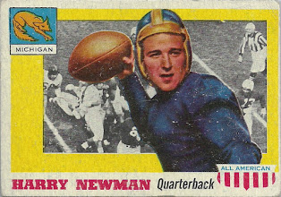 Photo: Harry Newman 1955 Topps All American RC