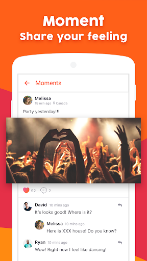 OneLive - 1 on 1 Live Video Chat App 1.27 screenshots 4