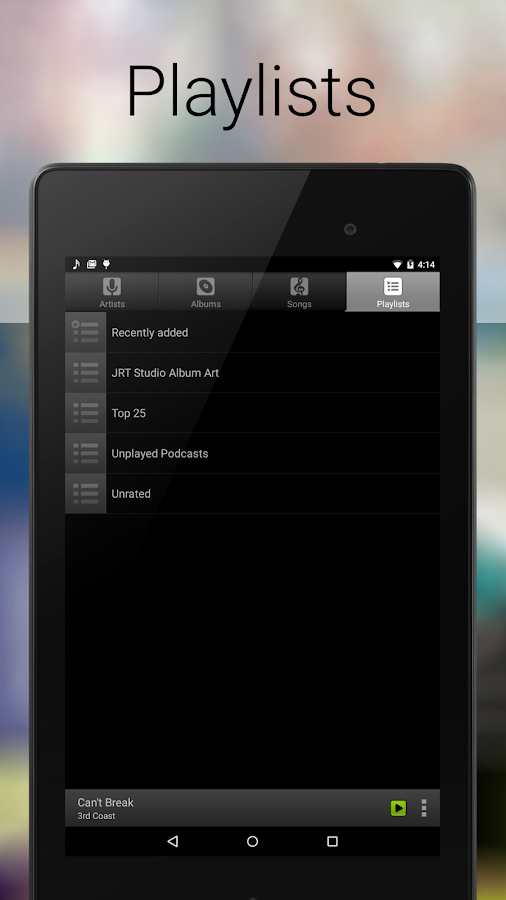 Music Player for Android- screenshot
