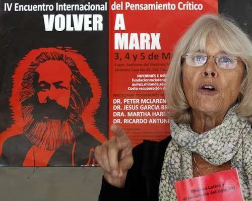Resultado de imagen para MARTA HARNECKER