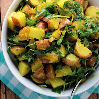 Turmeric Potato Salad Recipe