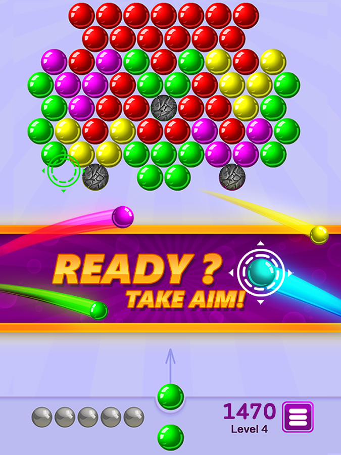 arcade bubble shooter
