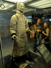 Photo: Day 188 - Perfect Example in Display Case -  Terracotta Warriors in Xi'an