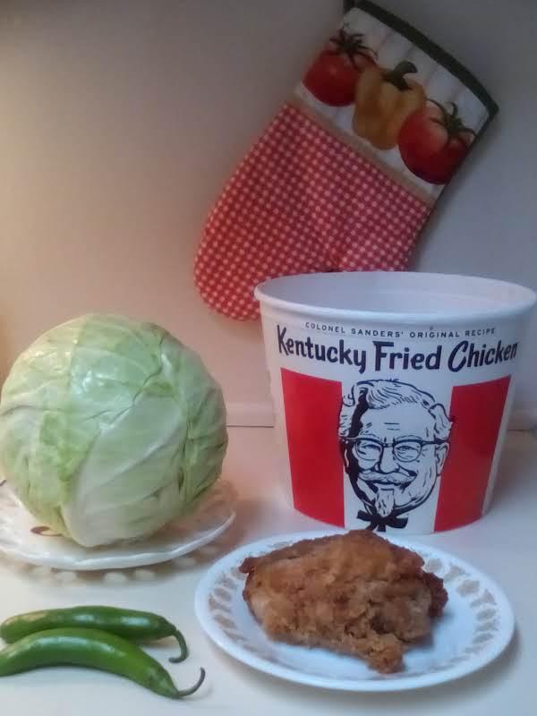 Kentucky Fried Cabbage Recipe