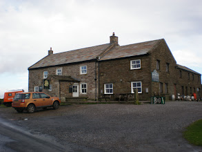 Photo: The Tan Hill Inn (probably the highest pub of Britain)