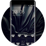 Luxury Black Silk Theme for Lenovo K6/K6 Power Icon
