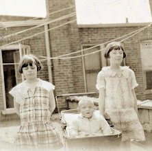 Photo: Muriel, Stanley, and Mildred Tulman