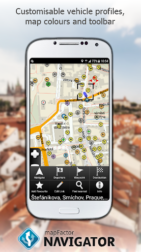 MapFactor GPS Navigation Maps  screenshots 4