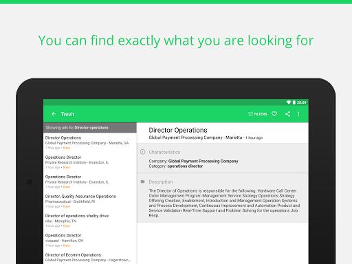 Find job offers - Trovit Jobs 4.41.0 screenshots 6