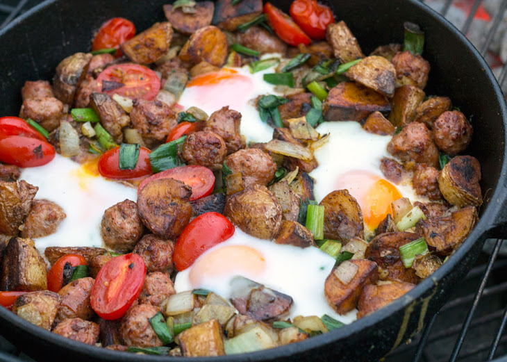 Skillet Chorizo Potato Hash Recipe
