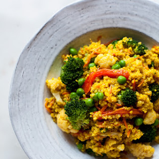 Creamy Curried Quinoa