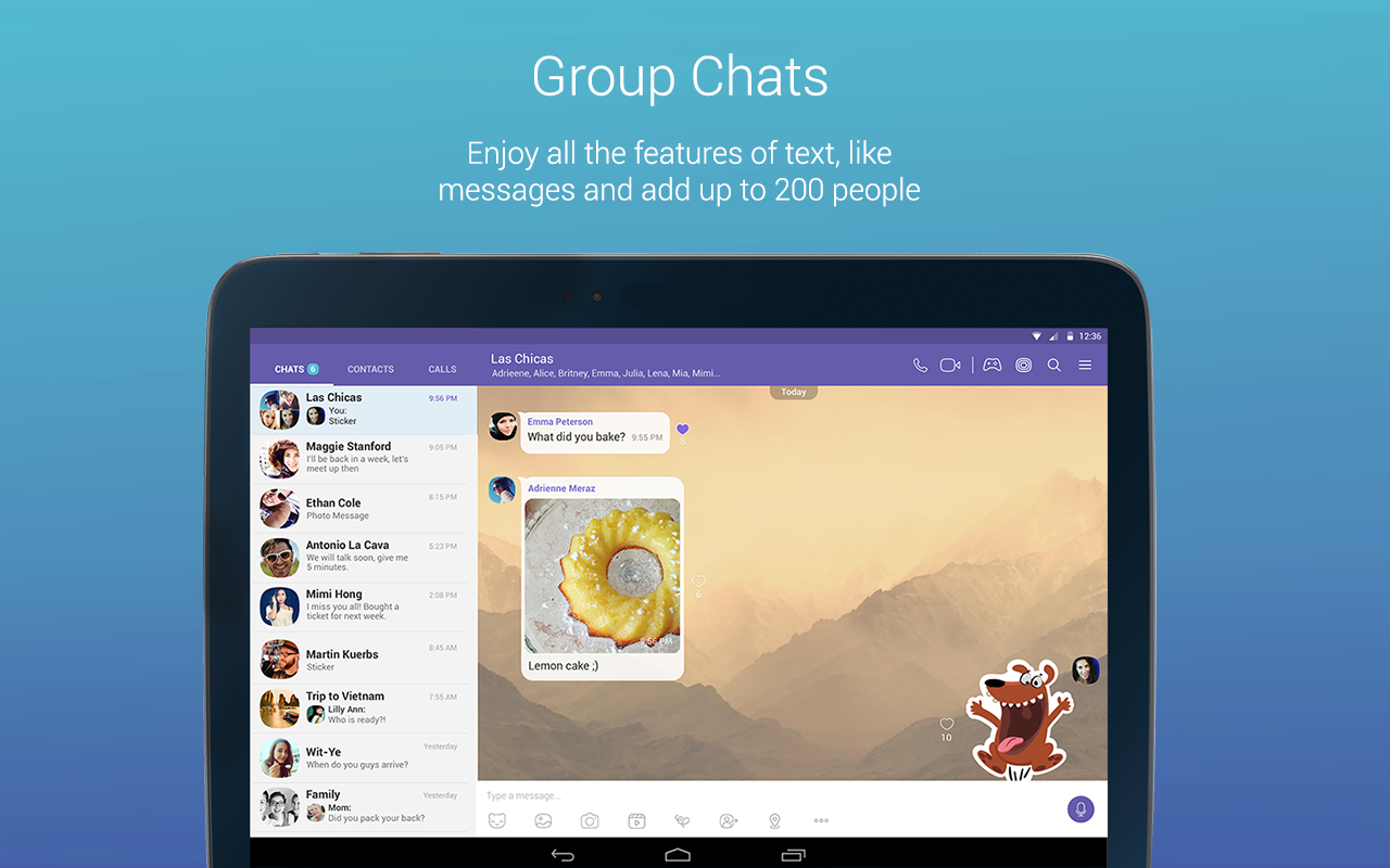 Viber Messenger- screenshot