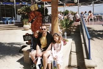 Photo: 1996 - Jussi, Lasse ja Satu menossa Coral Worldiin