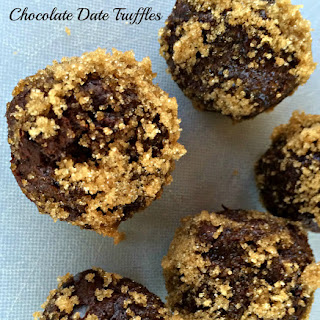 Chocolate Date Truffles